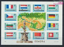 Ungarn Block128B ungezähnt postfrisch 1977 Donau-Main-Rhein-Schiffahrt (9077296
