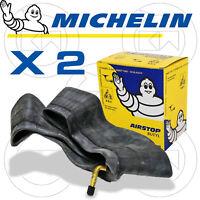 2 CAMERE D'ARIA MICHELIN 10B4 PER GOMMA 3.00-10 VESPA 50 PK XL (V5X3T)