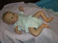 Reborn Doll Newborn Sloan, Toby Morgan Sculpt