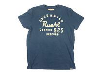 RUEHL No. 925 Faded Blue Logo Tee Men's Size XXL 2XL