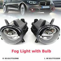 L+R LED Fog Light Lamps For BMW 3 Series F35 F20 F30 LCI 320i 328d 330i 16-18