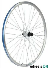 700c WheelsON Rear Wheel 8/9/10 Spd Mountain Bike V-Brakes 36 H Silver QR