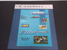 VINTAGE AIRTRONICS R/C CATALOG TRANSMITTER-RECEIVER-CONTROLLER-SERVOS *G-COND*