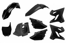 Polisport Restyle Plastic Kit  - BLACK - 2002-2014 Yamaha YZ125 & YZ250  _90718