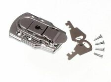 Lot Of 3 Locking Case Clasp Toggle Fastening Trunk Catch & 2 Keys 72Mm X 45Mm Cp