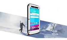 Love Mei Metallgehäuse für LG G4 spritz Wasserdicht Stabiles Schutz weiß