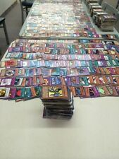 100+ YU-GI-OH COLLECTION YUGIOH CARDS LOT - BOOSTER PACKS SECRET HOLOS RARES