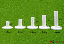 Golf Rubber Tees 5 Different Size Pack Mixed Driving Range Mat Practice Outdoor