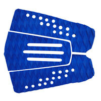 Blue EVA Traction Pad / 3x Tail Pad / Deck Grip / Surf / Surfing / Surfboard