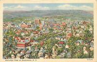 Binghamton New York~Birdseye City Panorama~Homes~Skyline~1941 Linen Postcard