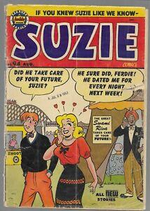 Suzie Comics #94 Archie Golden Age Comic Book 1953