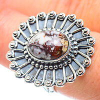 Red Jasper 925 Sterling Silver Ring Size 8.25 Ana Co Jewelry R57510F