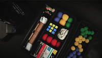 Close-Up Magic Tricks Bag Carrying Case - Organize, Store & Transport Your Props