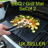 2PCS BBQ Grill Mat Teflon Reusable Sheet Resistant Non-Stick Barbecue Bake Meat