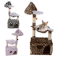 """New 47"""" Cat Tree Tower Condo Scratching Post Pet Kitty Play House High Quality"""