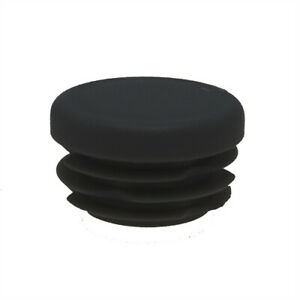 25 Pack Round Tube Inserts 24mm, 1-2.5mm Wall, Plastic Chair Feet, Tube End Caps