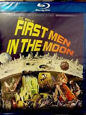 First Men In The Moon Blu-ray - Twilight Time Limited -Ray Harryhausen OOP