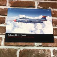 Boeing Aircraft McDonnel Douglas F-101 Voodoo 2005 Photo Sales Brochure STL Mo.
