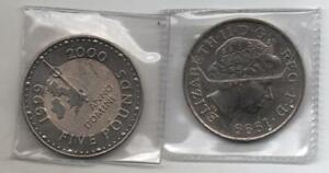 £5 Five Pound Coin 1999-2000 Millenium Anno Domini