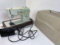 Vintage Singer Stylist Zig Zag Sewing Machine 413 Used Case Pedal