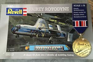 Revel Fairey Rotodyne Model Kit 1:78 New Old Stock