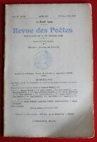 1909 - Revue des Poètes - N° 135 - T. Maurer, L. Loubon, H. Portevin, P. Ardouin