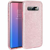 Case For Samsung Galaxy S10 Women Glossy Bling Marble Shockproof Gel Cover UK