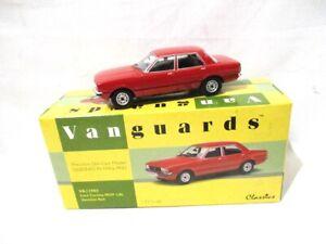Corgi Vanguards Ford Cortina  MK4  1.6L  Venetian Red   VA11903   RARE