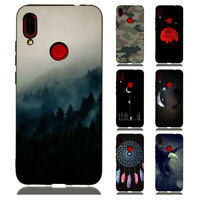 For Xiaomi Redmi Note 8 7 6 Pro Painted Case Soft Slim Rubber Pattern Back Cover