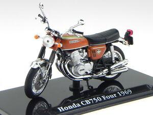 Honda CB750 Four 1969 Classic Superbike moto Modell 113 Atlas 1:24
