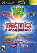 Tecmo Classic Arcade (Microsoft Xbox, 2005) NEW