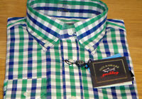New Paul & Shark Smart Shirt 100% Cotton Size L 42cm Superb Quality Must See WOW
