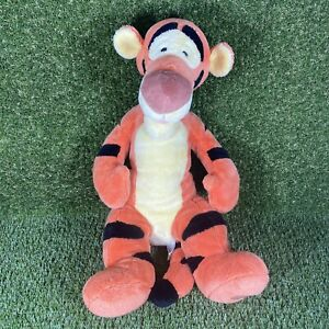 """Disney Store Exclusive Tigger Soft Toy Plush - Beanie - 16"""" - Good Condition"""