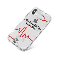Grey's Anatomy Beautiful Day to Save Lives Soft Phone Case For Apple iPhone