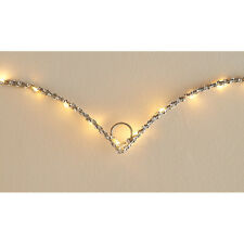 New Light Up Glitz Wire Heart Sign Battery Operated - Great Gift Idea