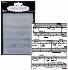 Darice Embossing Folders - Sheet Music notes 1216-68 embossing folder