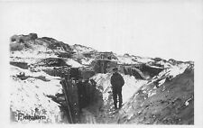 POSTCARD  MILITARY   WWI   German  Trenches