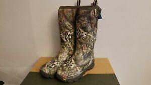 Muck Boots Men's Woody Arctic Ice Tall Vibram Arctic Grip Winter Boot Size 8
