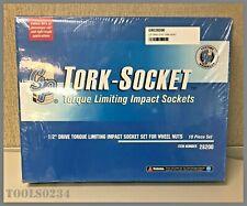12 Drive Torque Limiting Impact Tork Bars Socket Set 28200 Grey Pneumatic