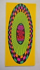 1960's You're Invited to our New Years Eve LSD Party-Hi BrowsVintage unused Card