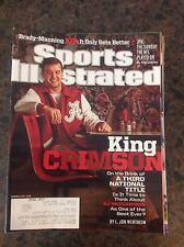 November 25 2013 AJ McCarron Alabama College Football Sports Illustrated Crimson