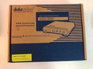 Datavideo DAC-200 Digital Video Converter Video Capture Adapter - FireWire Specs