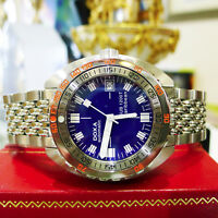 MEN'S DOXA SUB 1200T Caribbean Diver Watch Limited Edition Stainless Steel Watch