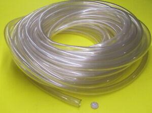 """PVC Tubing, Clear, 7/8"""" OD x 5/8"""" ID x 1/8"""" Wall x 50 Foot Coil"""