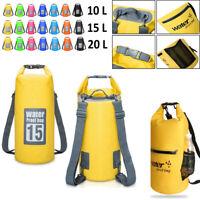 Aquafree Dry Bag 20L Gelb Wasserdichte Tasche EB14