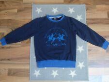 LA MARTINA Junior Pullover Pulli Junge Gr.: 128 Sweatshirt edel w. NEU blau
