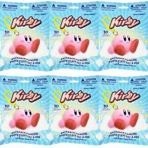 Nintendo Kirby Backpack Hangers Series 2 Lot of 6 Sealed Blind Bags