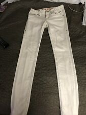 REDUCED! Rock Revival Pilkin Skinny Jeans Ivory Size 25 x 32