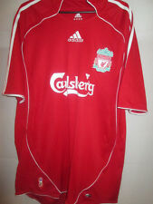 Liverpool lfc anfield 2006-2008 Home Football Shirt Size Large /2609