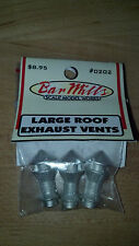 BAR MILLS Large Roof Exaust Vents HO Scale NEW #202